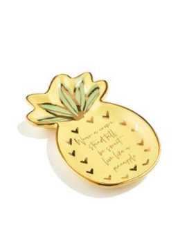 Pineapple Trinket Tray by Sportsgirl