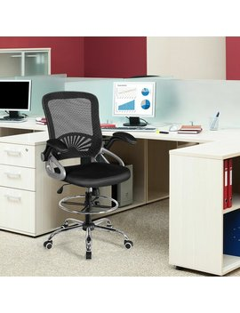 Deana Mid Adjustable Height Flip Up Arm Ergonomic Mesh Conference Chair by Ebern Designs