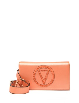 Lena Rock Studded Leather Convertible Shoulder Bag by Valentino By Mario Valentino