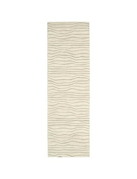 Canyon Hand Knotted Estuary Sand Area Rug by Joss & Main