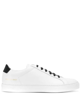 Monochrome Sneakers by Common Projects
