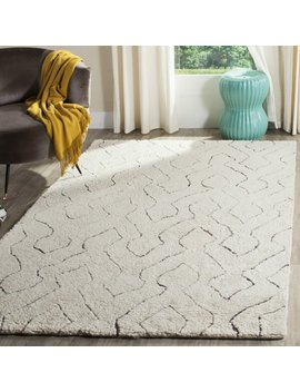 Elderton Wool Ivory Area Rug by Joss & Main