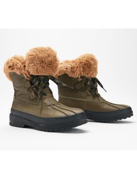 Sperry Maritime Leather Winter Boots by Sperry