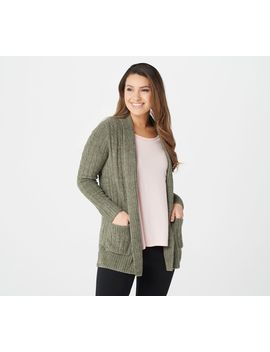 Barefoot Dreams Cozy Chic Lite Cable Cardi by Barefoot Dreams