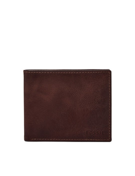 Derrick Rfid Bifold With Flip Id by Fossil
