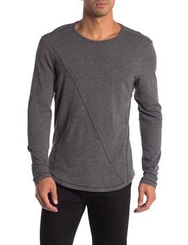 Meadowbrook Crew Long Sleeve Slub T Shirt by Robert Barakett