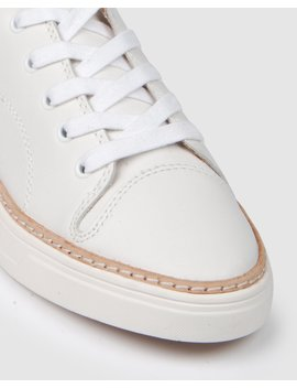 Fearless Sneakers White Leather by Jo Mercer
