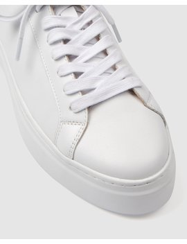 Tusk Sneakers White Leather by Jo Mercer