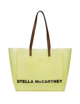 Logo Print Tote Bag by Stella Mc Cartney