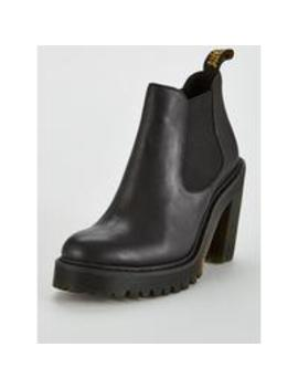 Hurston Heeled Ankle Boot by Dr Martens