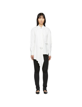 White Oversized Button Down Shirt by Proenza Schouler