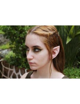 Wood Elf Latex Prosthetic Ears   Elven Link Cosplay Larp by Etsy