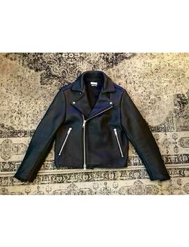 Cmmn Swdn Minimalist Kane Black Leather Jacket Extremely Heavy 3,5kg, Size 48 by Ebay Seller