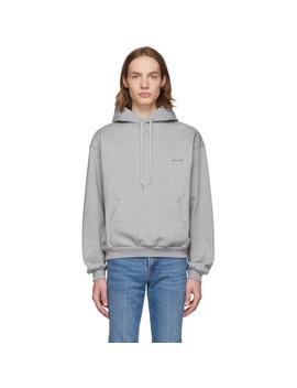 Grey 'balenciaga®' Hoodie by Balenciaga