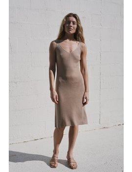 Loic Knit Slip Dress   Honey by St Agni