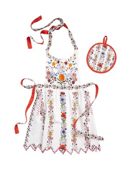 Catriona Apron Set by Anthropologie