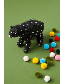 Black Bear Ornament by Anthropologie