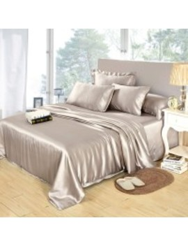25 Mm 3 Pc Silk Fitted Sheet Set by Lily Silk