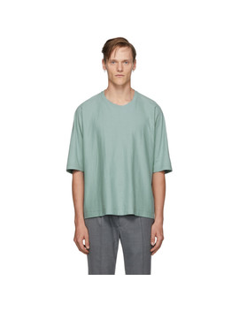 Blue Release T1 T Shirt by Homme PlissÉ Issey Miyake