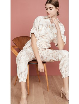 Super Eight Boiler Suit by Zimmermann