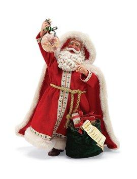 Santa Around The World Santa Figurine by Possible Dreams