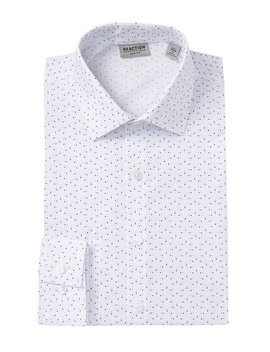 Slim Fit Printed Dress Shirt by Kenneth Cole Reaction