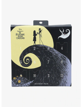 The Nightmare Before Christmas 12 Day Advent Interchangeable Necklace Set by Hot Topic