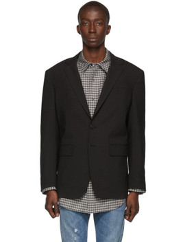 Grey Wool 80s Fit Blazer by Dsquared2
