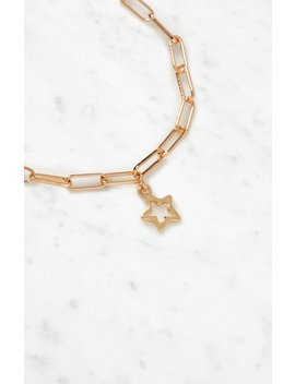 La Hearts Hollow Star Bracelet by Pacsun