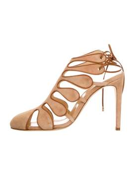 Calico Cutout Pumps W/ Tags by Chloé Gosselin