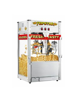 Great Northern Top Star Commercial Quality Bar Style Popcorn Popper Machine, 6208, 12 Ounce by Great Northern Popcorn