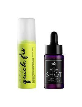 Urban Decay Quick Fix Prep Priming Spray &Amp; Drop Shot Facial Oil by Urban Decay Includes:
