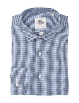 Argyle Dobby Gingham Skinny Fit Dress Shirt by Ben Sherman