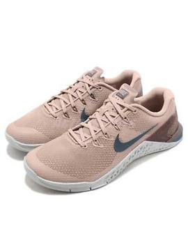Nike Wmns Metcon 4 Iv Particle Beige Women Cross Training Shoes 924593 240 by Nike