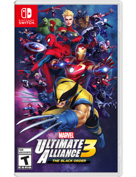 Marvel Ultimate Alliance 3: The Black Order, Nintendo, Nintendo Switch, 045496594282 by Nintendo