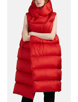 Liner Down Quilted Sleeveless Puffer Jacket by Rick Owens