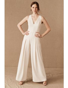 Amsale Galway Jumpsuit by Anthropologie