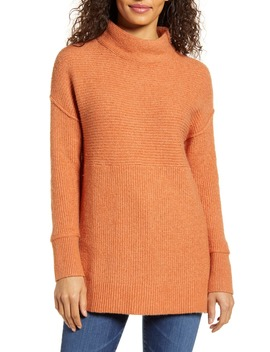Ribbed Tunic Sweater by Caslon
