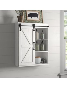 "Banbury 21.75"" W X 27.75"" H Wall Mounted Cabinet by Gracie Oaks"