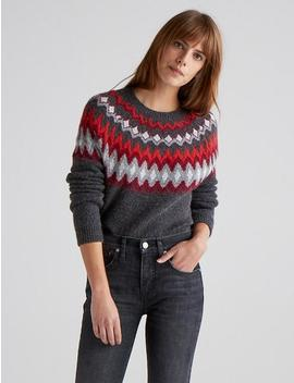 Fair Isle Pullover by Lucky Brand