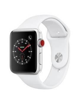 Apple Watch S3 2018 Cellular 42mm   Alu / White Sport Band867/6144 by Argos