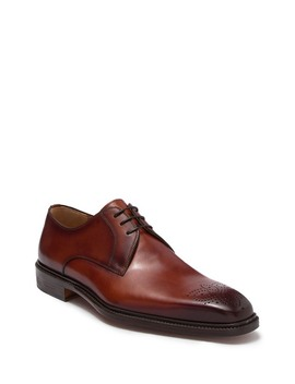 Orleans Ii Semi Brogue Derby by Magnanni