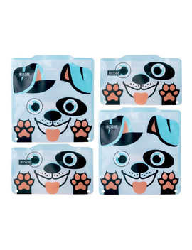 Snack/Sandwich Bags Set Of 4   Dog by Russbe