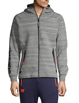 Raglan Sleeve Hooded Jacket by Superdry