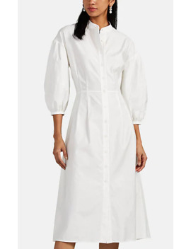 Cotton Poplin Shirtdress by Lisa Perry