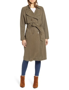 The Relaxed Trench Coat by Lucky Brand