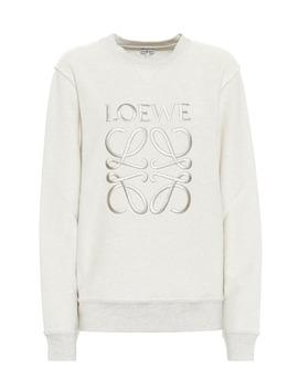 Cotton Logo Sweatshirt by Loewe