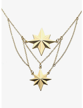 Marvel Captain Marvel Matte Finish Necklace by Hot Topic