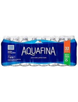 Aquafina Purified Drinking Water (16.9oz / 32pk) by Pepsico