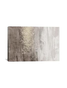 Glitter Rain Ii By Jennifer Goldberger Giclée Print Canvas Art by Icanvas